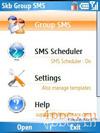 Скриншот Group SMS