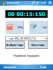 Скриншот PocketOne Stopwatch