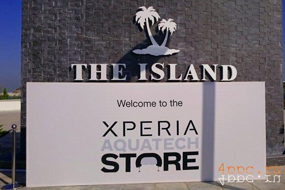 Sony открыл подводный магазин